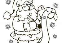 Santa Coloring Books With Pages Collection Free
