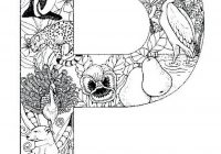 Santa Coloring Pages Crayola With Animal Alphabet Free Delightful