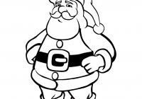Santa Colouring Games With Christmas Coloring Pages Claus
