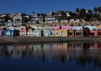 Santa Cruz Colored Houses With A Year In The Sunflower State California Trip 6