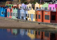 Santa Cruz Colored Houses With Stunning Exterior House Colors Vibrant Color Schemes