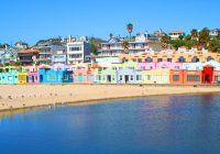 Santa Cruz Colored Houses With Willow Pond Ranch