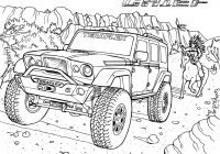 Santa Fe Coloring Pages With Gallery TeraFlex Jeep
