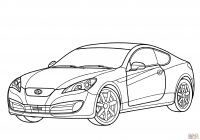 Santa Fe Coloring Pages With Hyundai Genesis Coupe Page Free Printable