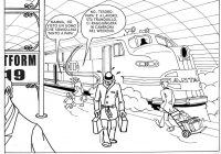 Santa Fe Train Coloring Pages With 28 Collection Of High Quality Free