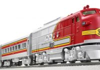 Santa Fe Train Coloring Pages With Win A Lionel Trains Super Chief Set Valued At 439 99 Ends