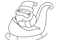 Santa Flying Coloring Pages With Christmas Claus Printables Baby Free Printable Posters And