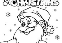 Santa Hat Coloring Pages Printable With New Sheet Collection