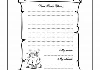 Santa List Coloring Sheet With ColoringPage Christmas Pinterest Colors Unusual Letter