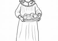 Santa Lucia Coloring Pages With Sankta Page Pinterest