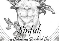 Santa Lucia Coloring Pages With Sinful A Book Of The Seven Deadly Sins By Lindsey Kahn