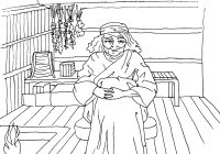Santa Muerte Coloring Pages With Goddess The Wormwood Queen