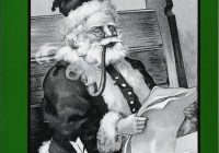 Santa S Christmas Grayscale Coloring Book With Amazon Com A Gift Adult