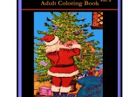 Santa S Christmas Grayscale Coloring Book With Vintage Postcards Vol 2 Adult 25