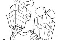 Santa S House Coloring Pages With SANTA HELPERS 48 Printables To Color Online For