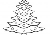 Santa Tree Coloring Page With Themed Christmas Trees Lovely Claus And