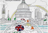 Secret London – Colouring For Mindfulness by Alice Chadwick  – london coloring book