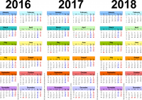 Ssc Year Calendar 2019 With Annual School 2017 18 For The