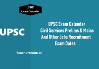 Ssc Year Calendar 2019 With UPSC Exam Civil Services Prelims On 2nd June Mains