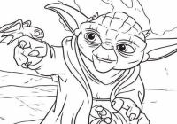 Star Wars Christmas Coloring Pages Awesome Yoda Coloring Pages ..
