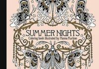 Summer Nights Coloring Book: Daydream Coloring Series – daydreams coloring book