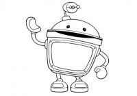 Team Umizoomi Coloring Coloring Page Team Coloring Pages Team Bot ..