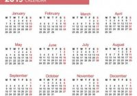 The Calendar. New Year. 13. Date. For Your Design. Stock Photo ..