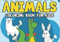 The Farting Animal Coloring Book for Kids: Cute Farting Animals ..