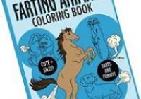 The Farting Animals Coloring Book by M