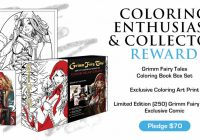 The Grimm Fairy Tales Coloring Book Boxed Set Kickstarter is LIVE ..