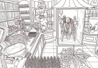 Third Harry Potter coloring book dives deep into the Wizarding World – harry potter coloring book