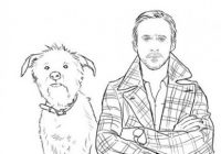 This Actually Exists: The Ryan Gosling Coloring Book   GQ – ryan gosling coloring book