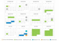Total 2019 Calendar Year Working Days With 2018 School