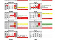 Total 2019 Calendar Year Working Days With Catoosa Public Schools 2018 CPS