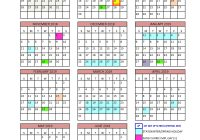 Total 2019 Calendar Year Working Days With District North Vancouver School