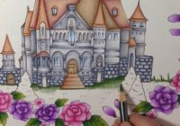 Tutorial part 17 – ROMANTIC COUNTRY coloring book – color with me ..