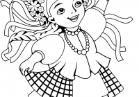 Ukrainian Christmas Coloring Pages With Ukraine Free