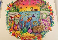 Underwater page from Enchanted Forest coloring book – Album on Imgur – enchanted forest coloring book