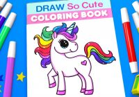 Unicorn Coloring Pages for Kids | Learn Color – YouTube – the unicorn coloring book