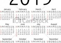 Vector calendar 20, sunday. Simple 20 year calendar, week starts ..