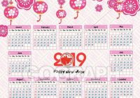 Vector Clipart – Calendar 17 chinese calendar for happy new year ..