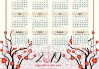 Vector Clipart – Calendar 20 chinese calendar for happy new year ..
