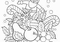 Vintage Christmas Coloring Pages With New Printable