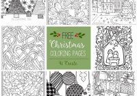 Vintage Christmas Coloring Pages With Retro Decorations Best Of