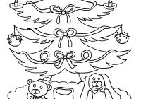 Vintage Christmas Coloring Pages With Xmas Tree Ornaments Hellokids Com