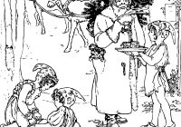 Vintage Santa Coloring Page With FREE Christmas For Adults Reindeer