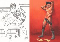 X-Mans, An Art Show Based on Pages From a Dollar Store 'X-Men ..