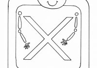 X Xray Alphabet Coloring Pages Coloring Book Coloring Books For ..