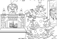 Xmas Coloring Book With Thomas Christmas Sheets For Children Printable Pictures