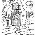Xmas Coloring Pages To Print